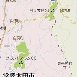 茨城県那珂郡東海村竹瓦の地図