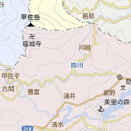 熊本県上益城郡甲佐町豊内の地図